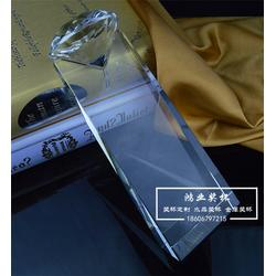 水晶授权牌哪家好-水晶授权牌-鸿业奖杯免费排版(查看)图片
