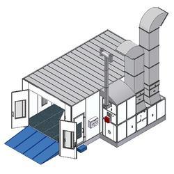 广安烤漆房设备、广安烤漆房设备、(圣杰环保)(优质商家)图片