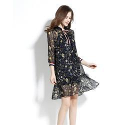 针织连衣裙加工-女装加工(在线咨询)上海连衣裙加工图片