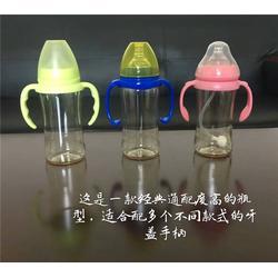 新朋胜质量保证(图)、玻璃奶瓶厂家、衢州奶瓶厂家图片
