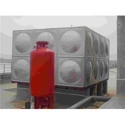 南通消防水箱-正济泵业行业先锋-不锈钢消防水箱安装图片