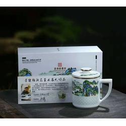 高档陶瓷玲珑【茶杯套装定制玲珑茶杯办公☆杯图片