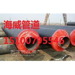 大口径聚氨酯直埋保温钢管生产厂家图片