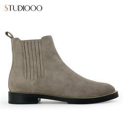 秋季靴子-大麦山镇靴-炜炬鞋楦图片
