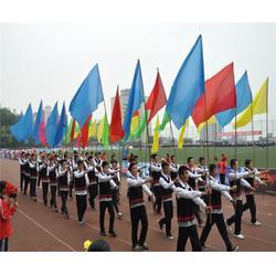 彩色标志旗定制-武汉彩色标志旗-新亚广告平安娱乐图片