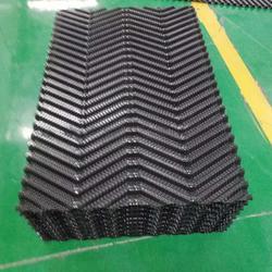 制热换热高效M波填料  改性PVC填料图片
