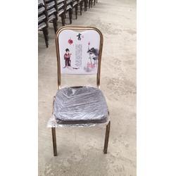 现代风格皮革软包椅定制酒店餐桌椅可来样定制图片