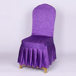 餐厅婚庆婚宴凳子套罩座椅套布艺图片