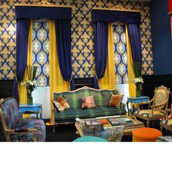 布艺窗帘、西安布艺窗帘、君尚软装(查看)图片