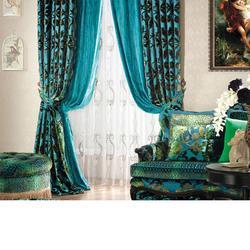 中式窗帘定制-君尚软装(在线咨询)西安窗帘定制图片