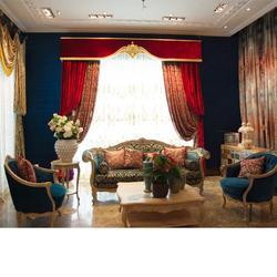 天窗窗帘设计、君尚软装(在线咨询)、渭南窗帘设计图片