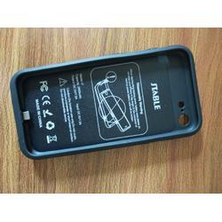 2017新款适用于苹果7plus背夹电池 软包红轻薄大容量手机电池图片