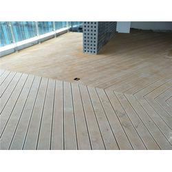 木塑护栏-青岛中邦-户外木塑护栏图片