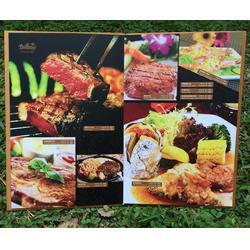 特色菜谱设计制作|艺路阳光广告(在线咨询)|市北区菜谱设计图片