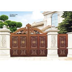 南京庭院门厂家、铸铝庭院门厂家、信德成(推荐商家)图片
