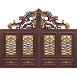 铸铝庭院门,庭院门,信德成门业有限公司图片