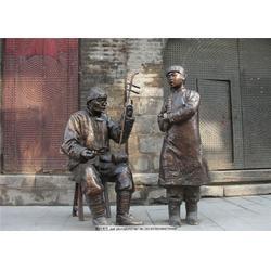劳动农民人物铜雕、恩泽雕塑、劳动农民人物铜雕生产厂家图片