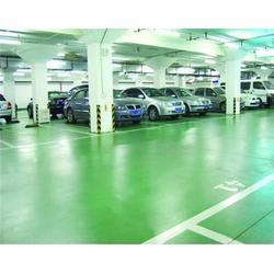 停车场地坪漆,武汉地坪,岳麓建筑装饰公司(查看)图片