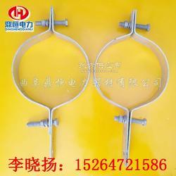 优质高压电缆抱箍 单吊电缆抱箍/采购图片