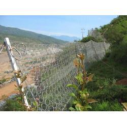 施工防落石的防护网-安平圣森-落石防护网图片
