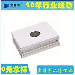 玻镁岩棉净化板、山东宏鑫源、玻镁岩棉净化板商图片