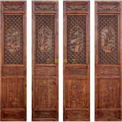 仿古花格门窗,艺修木艺声名远扬,定做仿古花格门窗