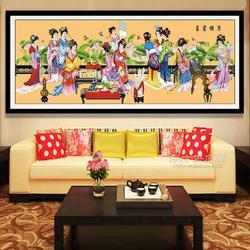 艺尚云轩钻石画多元化特点引大众关注图片