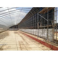 定西椭圆管温室大棚搭建,厂家(富农温室)椭圆管温室大棚图片
