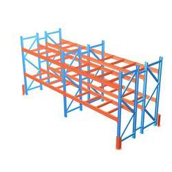 贯通式折叠货架_折叠货架公司_金仓联,专业货架定制(多图)图片