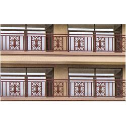 南京铝艺栏杆,铝艺护栏多少一米,鸿盈金属(优质商家)图片