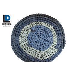 蓝盾链条抗拉耐磨-锰钢摩托车链条型号-浙江锰钢摩托车链条图片