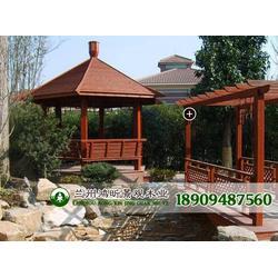 景观木凉亭、防腐木凉亭、木结构工程施工图片