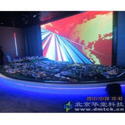 天津聲光電沙盤系統-聲光電沙盤系統-華堂科技圖片
