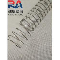 食品级透明钢丝管厂家-瑞奥塑胶软管-?#25163;?#33457;食品级透明钢丝管图片