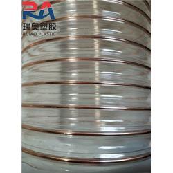 瑞奥塑胶软管-pu钢丝吸尘风管尺寸-大同pu钢丝吸尘风管图片