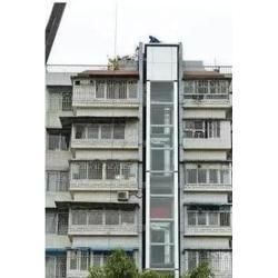 旧楼房加建电梯哪家好_花都区旧楼房加建电梯_专业加装电梯公司图片