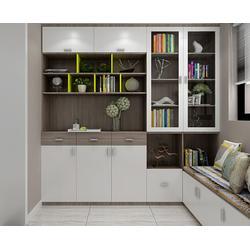 合肥书柜定制、合肥锦华、实木书柜定制公司图片