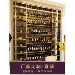 不锈钢红酒柜、不锈钢酒柜报价、乌海不锈钢酒柜图片