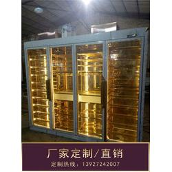 不锈钢酒柜、钢之源金属制品(在线咨询)、黑钛不锈钢酒柜图片