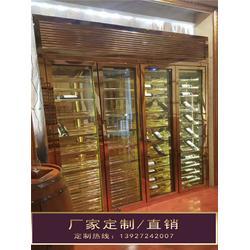 南昌不锈钢酒柜_钢之源金属制品(在线咨询)_酒窖不锈钢酒柜图片