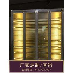 不锈钢酒柜酒架-不锈钢酒柜-钢之源金属制品(多图)图片