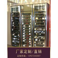 廊坊不锈钢酒柜-钢之源金属制品-不锈钢酒柜图片
