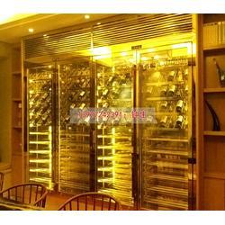 不锈钢酒柜,钢之源金属制品(优质商家),不锈钢酒柜报价图片