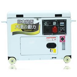 5kw静音柴油发电机图片