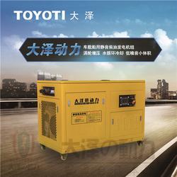 机房应急30千瓦柴油发电机图片