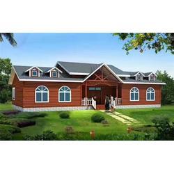 建造木房子、万林木屋厂家、平顶山木房子图片