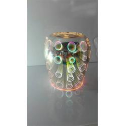 谢岗直径12高20 3D玫瑰花灯-燕峰电子图片