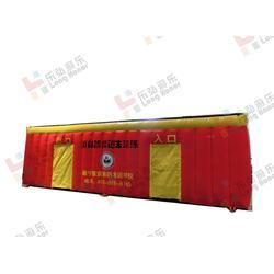 台北帐篷-乐弘气模相当专业-消防演习帐篷定做图片