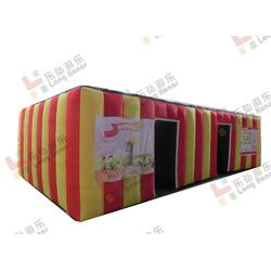广州帐篷-乐弘气模相当专业-消防烟雾帐篷厂家图片