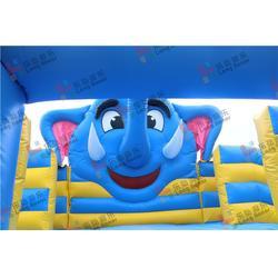 乐弘气模产品质量好!(图)-充气水滑梯策划-银川水滑梯策划图片